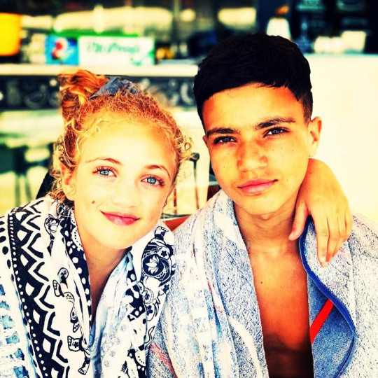 Katie Price and Peter Andre's children Junior and Princess Andre