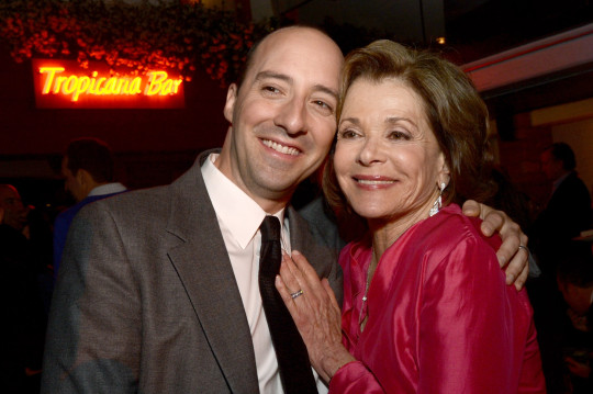 Jessica Walter and Tony Hale from Arrested Development