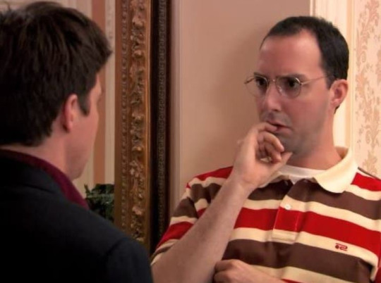 Arrested Development star Buster Bluth (Tony Hale)