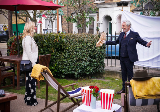 Rocky and Kathy in EastEnders