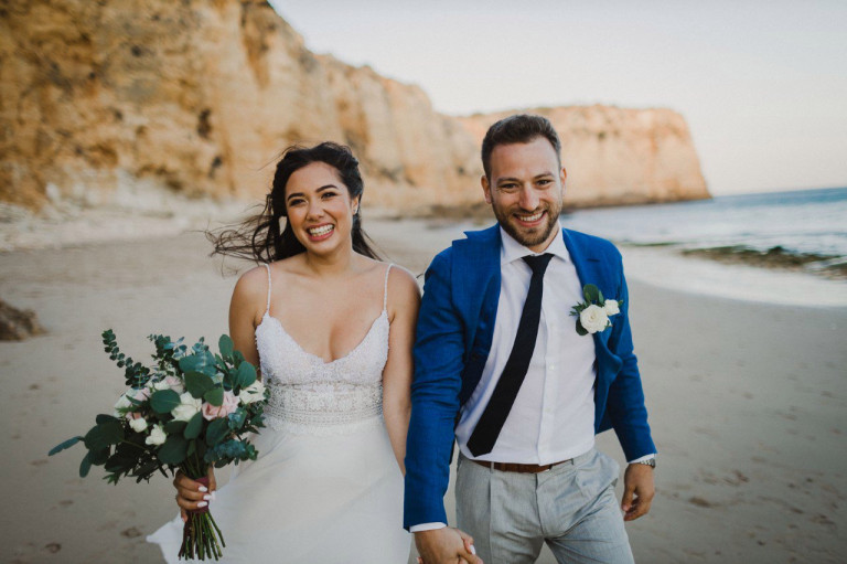 Wedding photos of British national Caroline Crouch, 20, who was strangled to death by her Greek husband, Babis Anagnostopolous