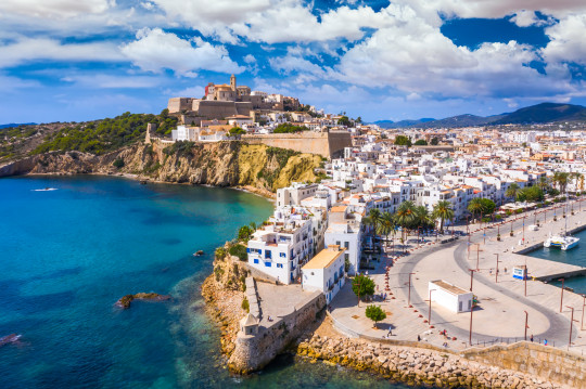 Ibiza is one of the places opening back up to British tourists