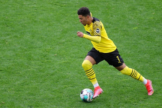The winger excelled in the second half of last season for Dortmund
