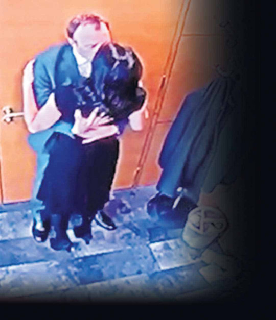 Matt Hancock caught on camera having a passionate clinch outside his Whitehall office with aide, Gina Coladangelo