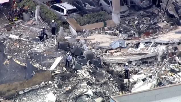 Grandson receives eerie calls from couple missing in Miami building collapse