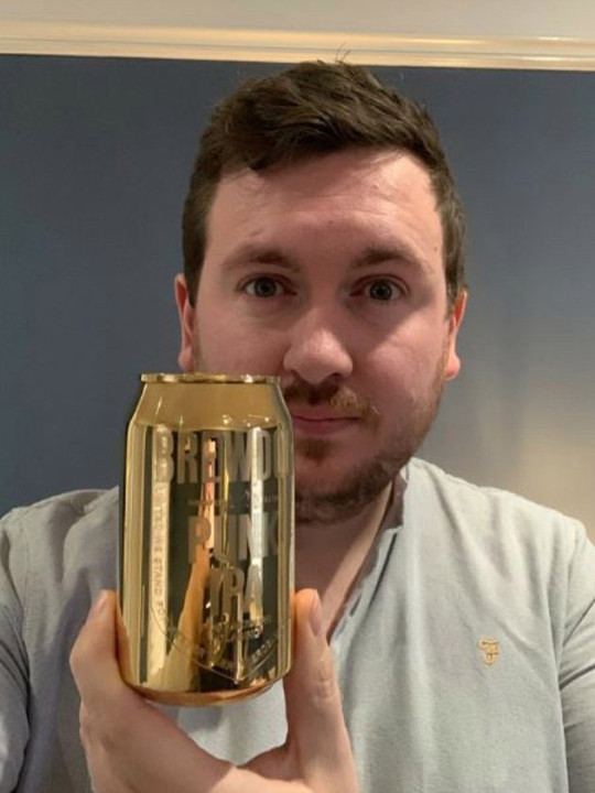 Tweets posted by BrewDog when the draw launched in November told entrants they could be one of ten customers to win a 'solid gold' can if they bought cases of Punk IPA.