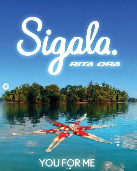 The single artwork for Rita Ora and Sigala's single You For Me