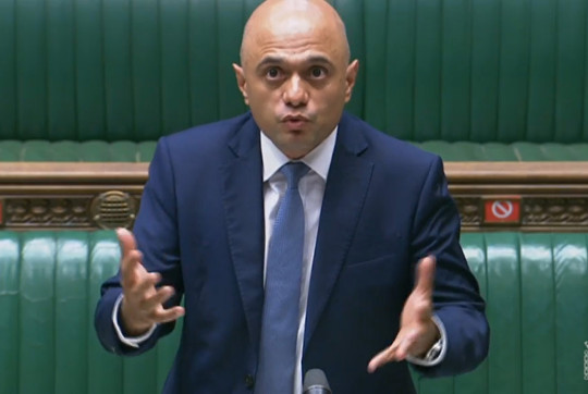 In his first speech to the House of Commons yesterday, Mr Javid said the UK had to be realistic in its fight against coronavirus