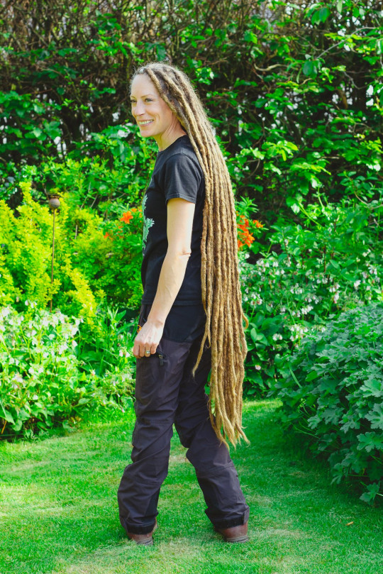 Jessica hasn't cut her hair since 2010 and it has grown to 4ft 2in. See SWNS story SWLEhair; A woman whose son lived just ???two precious days??? is raising funds for a hospice who helped them through their tragedy ??? by shaving off her four-foot-long dreadlocks. Jessica Herbert, 46, was given the devastating news that her son Oaken was diagnosed with a deadly genetic condition and was asked if she wanted to terminate the pregnancy ???numerous times???. After the 12-week scan doctors discovered the little lad had Edwards syndrome, a genetic disorder caused by the presence of a third copy of all or part of chromosome 18. Sadly, only one in 10 babies born with the condition live past their fifth birthday. Tragic Oaken sadly died two days after he was born in August, but Jessica said she was grateful to have been able to hold him and even Christen him before his untimely passing.