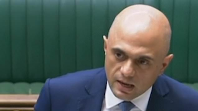 Sajid Javid: July 19 is end of the line and start of exciting journey