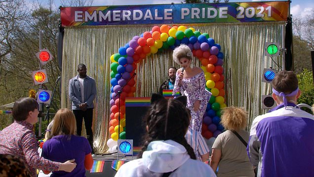 The Vivienne opens Emmerdale's first Pride event