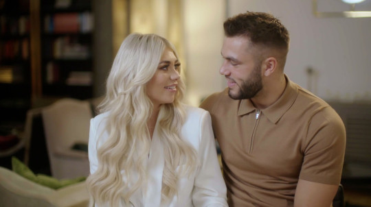Editorial use only Mandatory Credit: Photo by ITV/Shutterstock (10954361x) Paige Turley and Finley Tapp. 'Love Island - What Happened Next' TV Show, Episode 3, UK - 15 Oct 2020