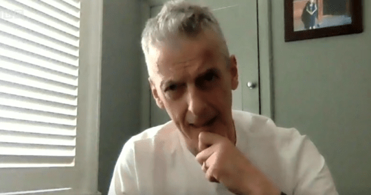 Peter Capaldi on Andrew Marr