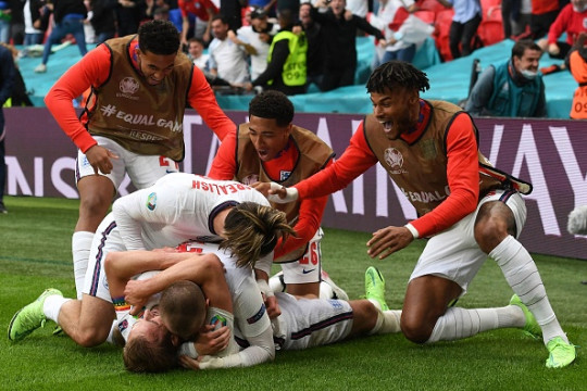 England defeated Germany to move one step closer to European Championship glory