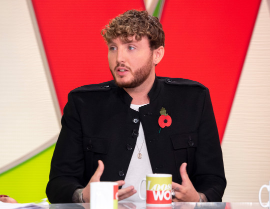 Editorial use only Mandatory Credit: Photo by Ken McKay/ITV/REX (9970854ap) James Arthur 'Loose Women' TV show, London, UK - 08 Nov 2018 CELEBRITY GUEST: JAMES ARTHUR He's the talent show winner who has endured more than his fair share of ups and downs. After bouncing back with his second album in 2016, James says he?s now better than ever - professionally and personally. Ahead of the release of his third studio album, James joins us to discuss his work, mental health and the constant battle to contain his demons.