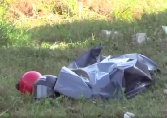 Reporter films body bag moving after motorcyclist wrongly pronounced dead credit: CEN