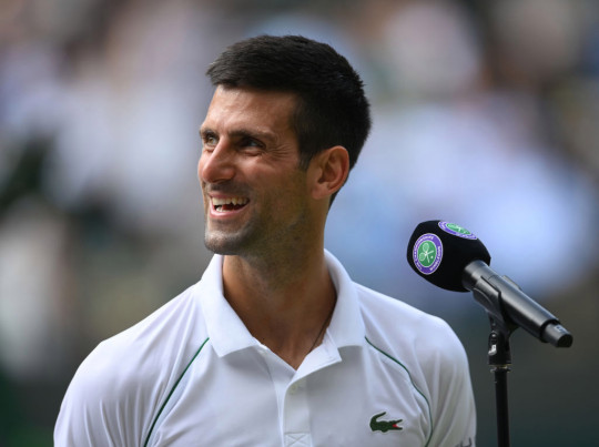 Djokovic dropped just one set on his way to the quarter-finals