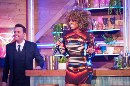 Fleur East and Stephen Mulhern on Ant and Dec's Saturday Night Takeaway