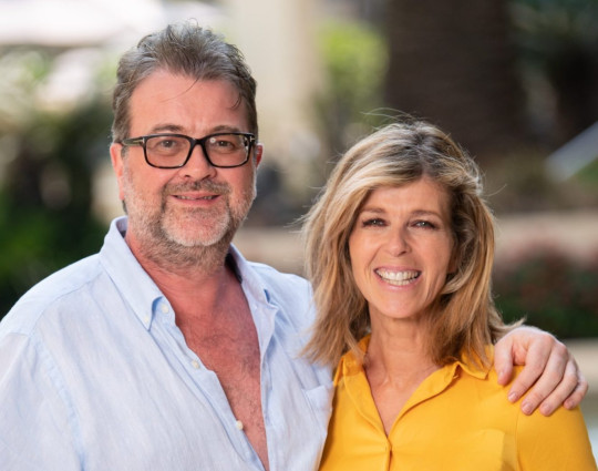 Editorial use only Mandatory Credit: Photo by James Gourley/ITV/Shutterstock (10495119m) Derek Draper and Kate Garraway 'I'm a Celebrity... Get Me Out of Here!' TV Show, Kate Garraway at the Versace Hotel, Series 19, Australia - 08 Dec 2019