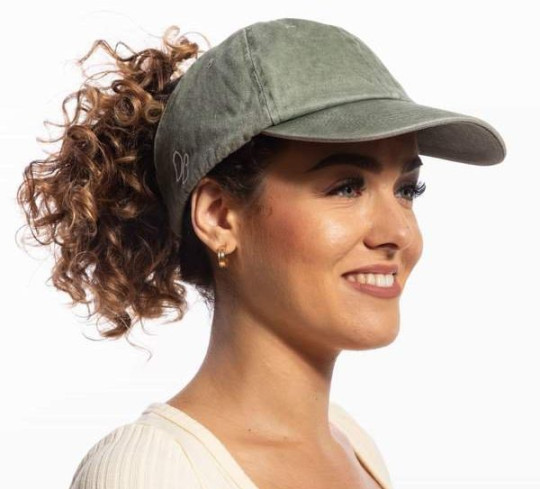 Only Curls satin-lined cap
