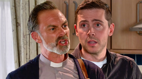 Billy and Todd in Coronation Street