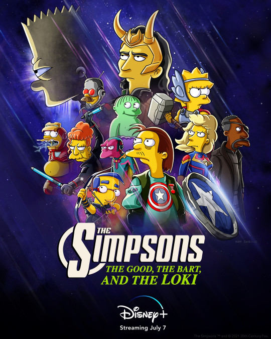The Simpsons and Loki crossover
