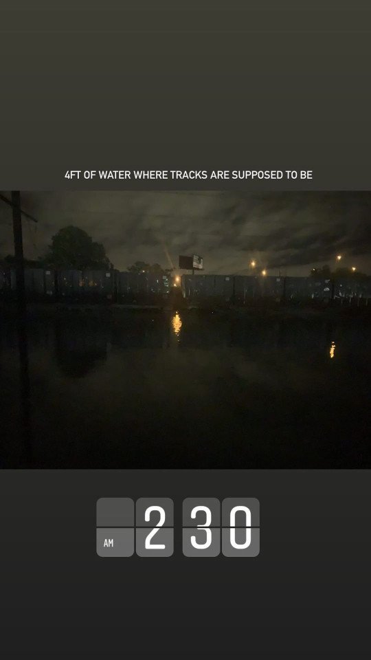 People trapped for ten hours on New York train while in dark and submerged in flood water 9953305 New York travelers were trapped on trains for TEN HOURS in the dark without bathrooms or electricity after tracks were flooded by Storm Ida