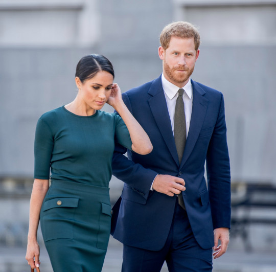 A new clip of Prince Harry and Meghan Markle, who?s pregnant with their second child after Archie, during their bombshell tell-all interview with Oprah Winfrey after quitting their Royal Job, shows Meghan, Duchess of Sussex finally feeling free and ready to talk about being blocked from having her voice by royal aides. The clip aired on CBS This Morning ahead of premiere on US network on Sunday night. (Photo by DPPA/Sipa USA)