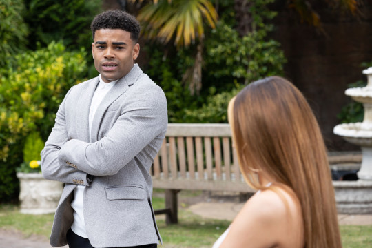 Goldie and Prince in Hollyoaks
