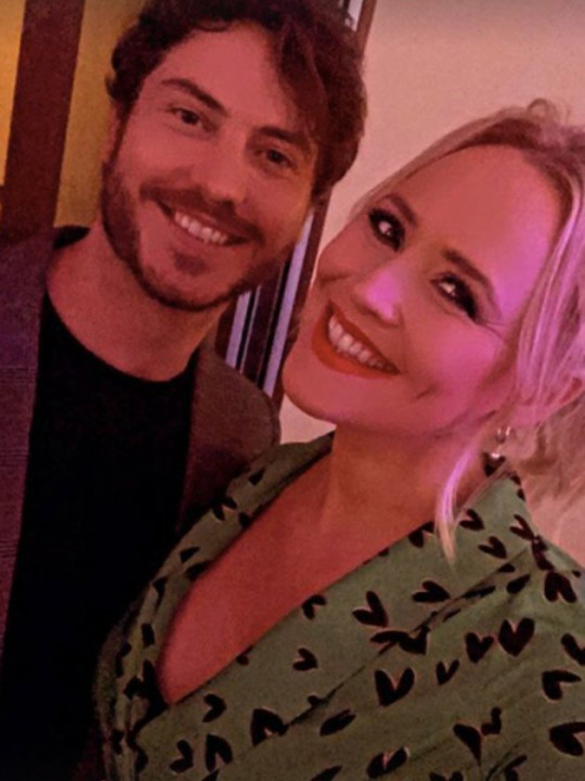 EastEnders and Emmerdale real life couple share loving photo - pictured - toby alexander smith and amy walsh