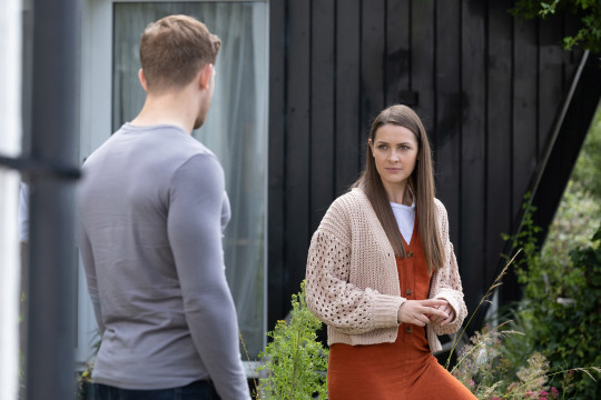 Sienna and Brody in Hollyoaks