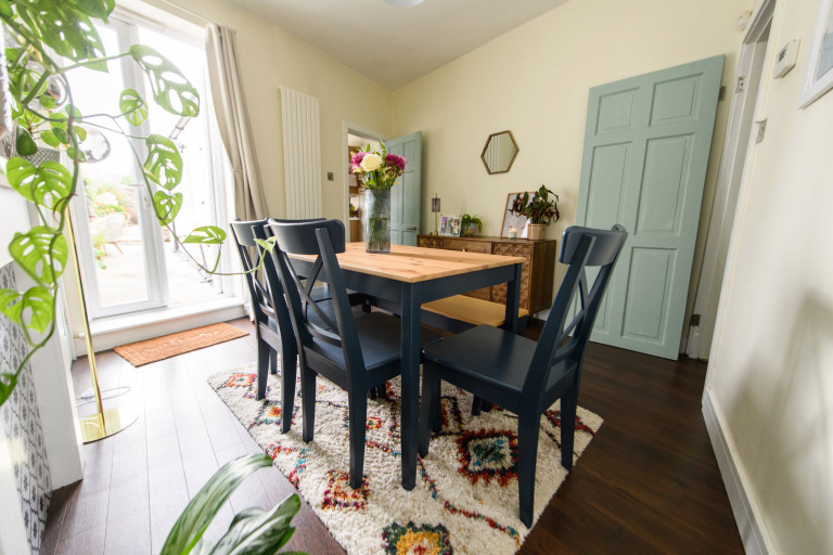 What I Rent, Hannah, £875 for a two-bedroom house in York: dining room