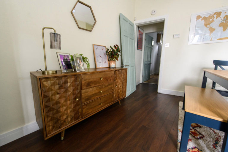 What I Rent, Hannah, £875 for a two-bedroom house in York: dining room cabinet