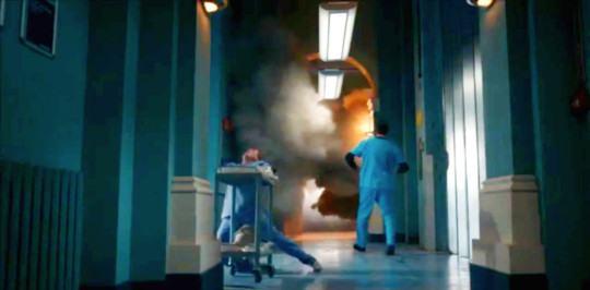 Holby City explosion