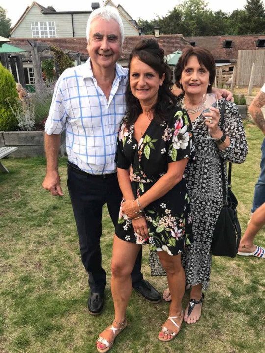Terry and Brenda with their daughter Zoe