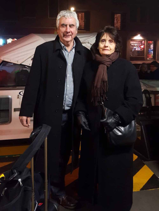Terry and wife Brenda