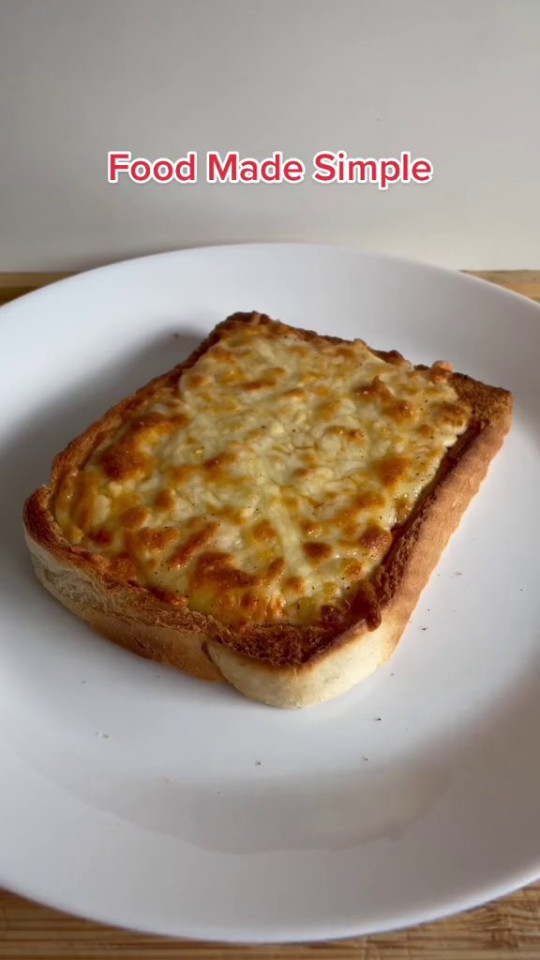 the cheese on toast