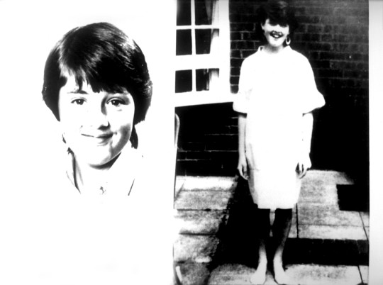 File photos dated 01/01/83 of schoolgirl Dawn Ashworth as her killer Colin Pitchfork has walked free from prison after bids to keep him behind bars for longer failed. Issue date: Wednesday September 1, 2021. PA Photo. Pitchfork, now in his early 60s, was jailed for life after raping and strangling 15-year-olds Lynda Mann and Dawn Ashworth in Leicestershire in 1983 and 1986. See PA story PRISONS Pitchfork. Photo credit should read: Topham/PA Wire