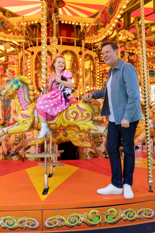Stephen Mulhern at Make A Wish charity event