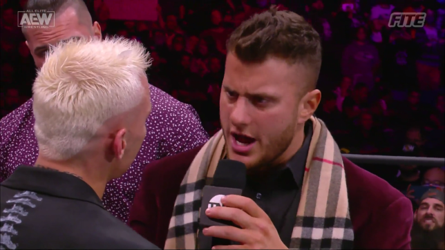 MJF and Darby Allin trade words on AEW Dynamite