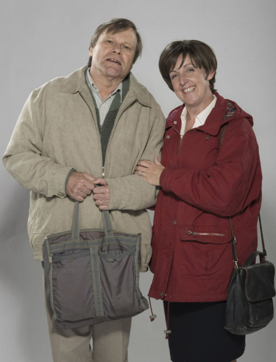 Roy and Hayley in Corrie