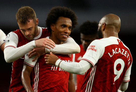 Willian scored just one Premier League goal for Arsenal during his solitary season at the club