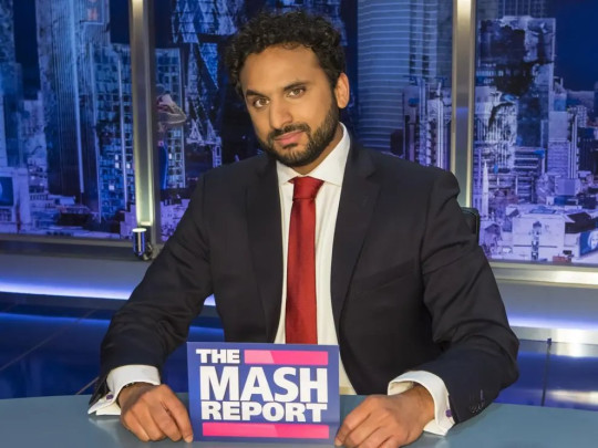 10pm Late Night Mash - Nish Kumar compares himself to Laurence Fox as show returns on Dave credit bbc